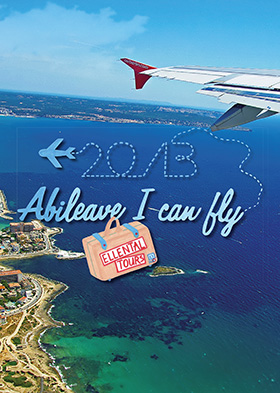 Abschlusszeitung Cover: Abileave I can fly