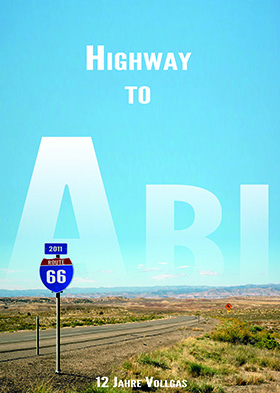 Abschlusszeitung Cover: Highway to Abi